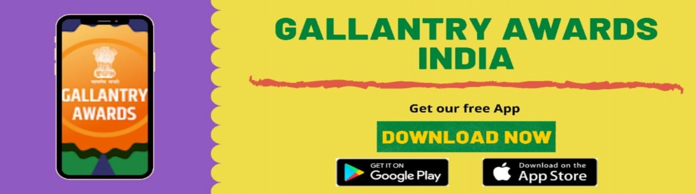 Mobile App Banner- Gallantry Awards Portal